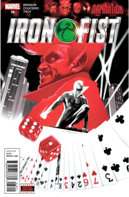 Iron Fist #78 [Marvel Comic] THUMBNAIL