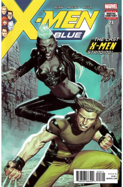 X-Men Blue #23 [Marvel Comic]