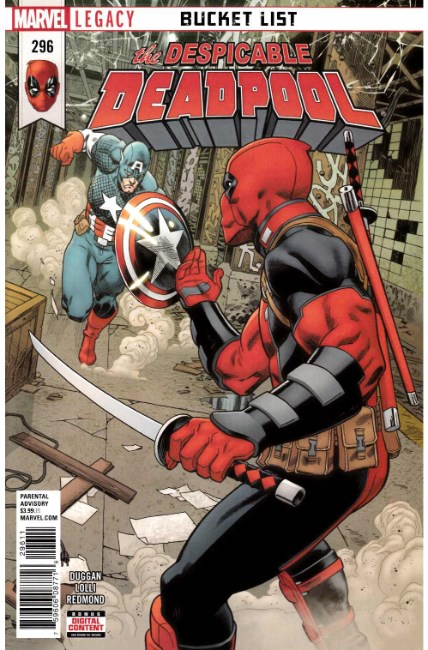Despicable Deadpool #296 [Marvel Comic]
