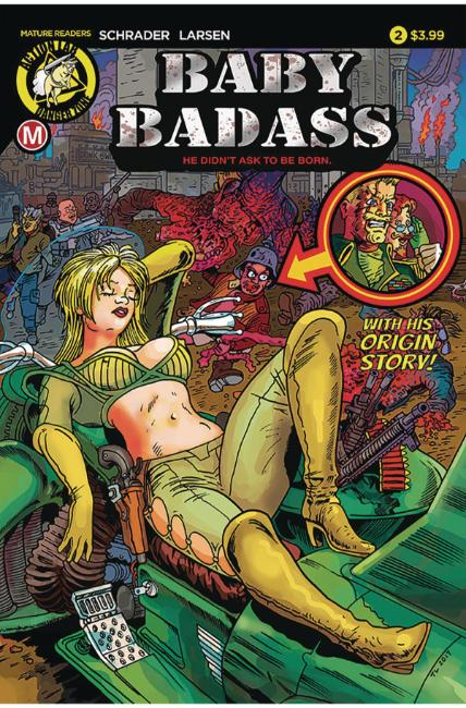 Baby Badass #2 Cover A [Danger Zone Comic]