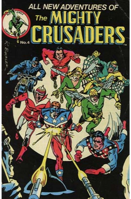 Mighty Crusaders #4 Cover B [Archie Comic] LARGE