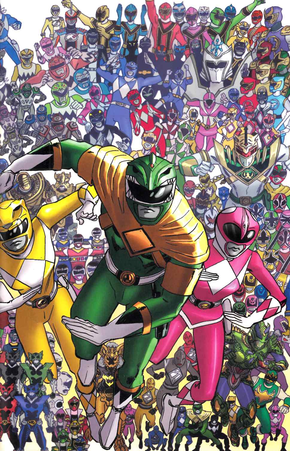 Mighty Morphin Power Rangers #25 Koblish Incentive Cover [Boom Comic] THUMBNAIL