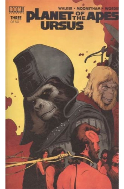 Planet of the Apes Ursus #3 Cover A [Boom Comic] THUMBNAIL