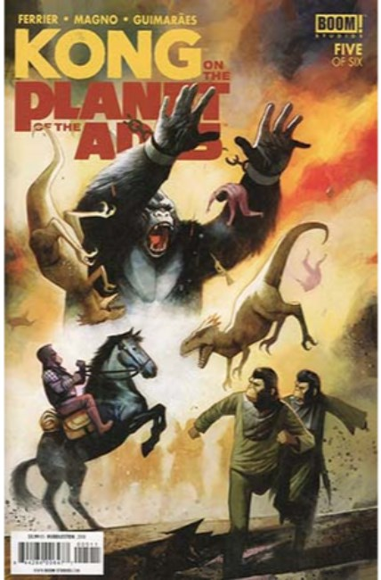 Kong on Planet of Apes #5 [Boom Comic]