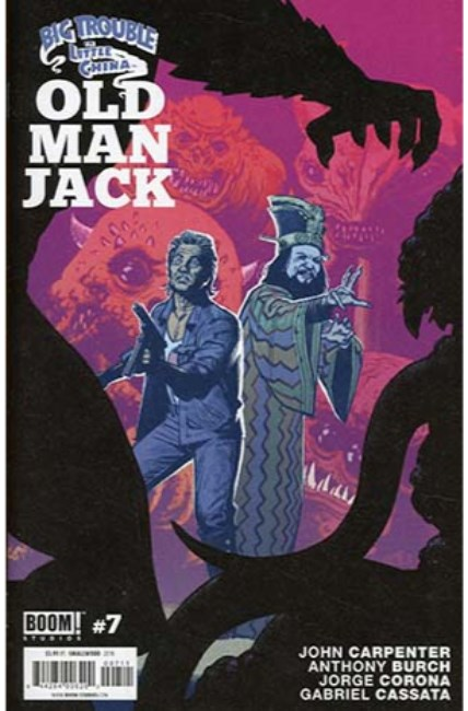 Big Trouble in Little China Old Man Jack #7 [Boom Comic]