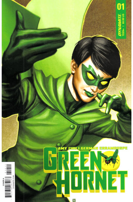 Green Hornet #1 Cover A [Dynamite Comic] THUMBNAIL