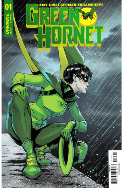 Green Hornet #1 Cover B [Dynamite Comic] THUMBNAIL
