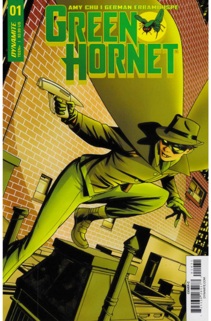 Green Hornet #1 Cover C [Dynamite Comic]_THUMBNAIL