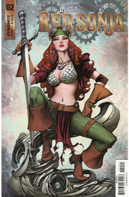 Legenderry Red Sonja #2 Cover A [Dynamite Comic]_THUMBNAIL