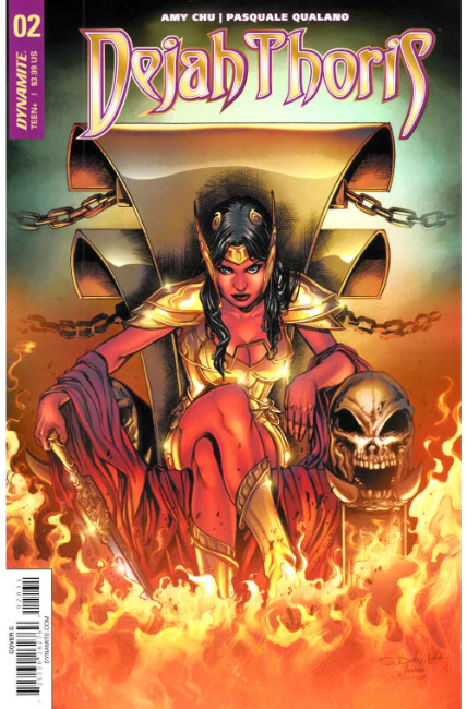 Dejah Thoris #2 Cover C [Dynamite Comic] THUMBNAIL