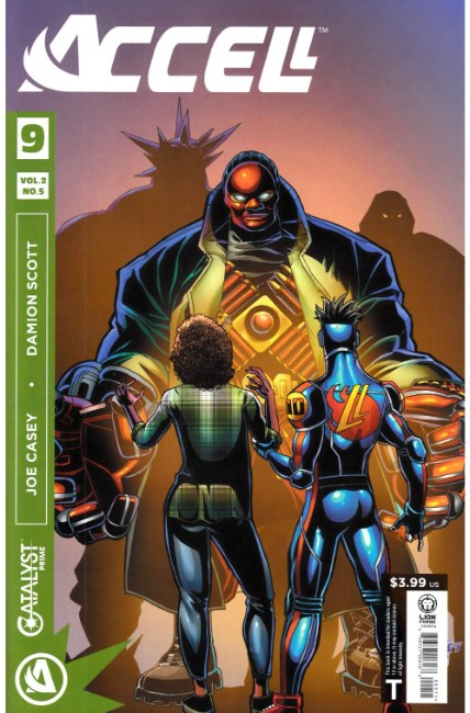 Catalyst Prime Accell Volume 2 #5 [Lion Forge Comic] THUMBNAIL