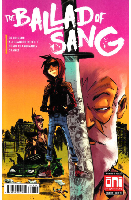 Ballad of Sang #1 Cover A [Oni Press Comic] THUMBNAIL