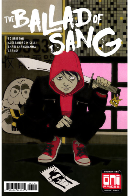 Ballad of Sang #1 Cover B [Oni Press Comic] THUMBNAIL
