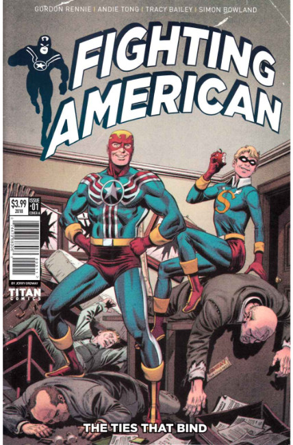 Fighting American Ties That Bind #1 Cover A [Titan Comic]