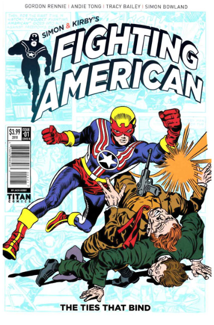 Fighting American Ties That Bind #1 Cover B [Titan Comic]