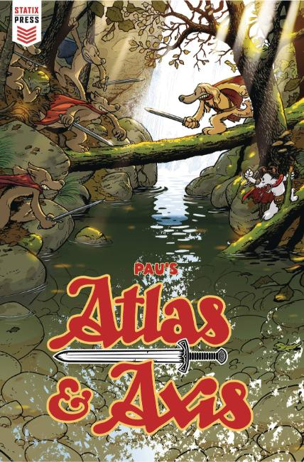 Atlas and Axis #3 [Titan Comic] THUMBNAIL