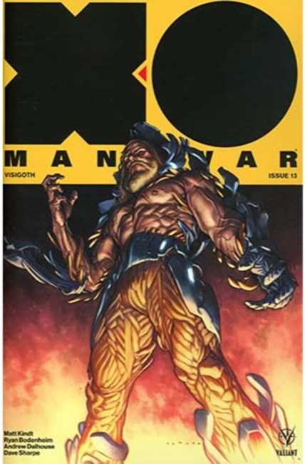 X-O Manowar #13 Cover A [Valiant Comic] LARGE