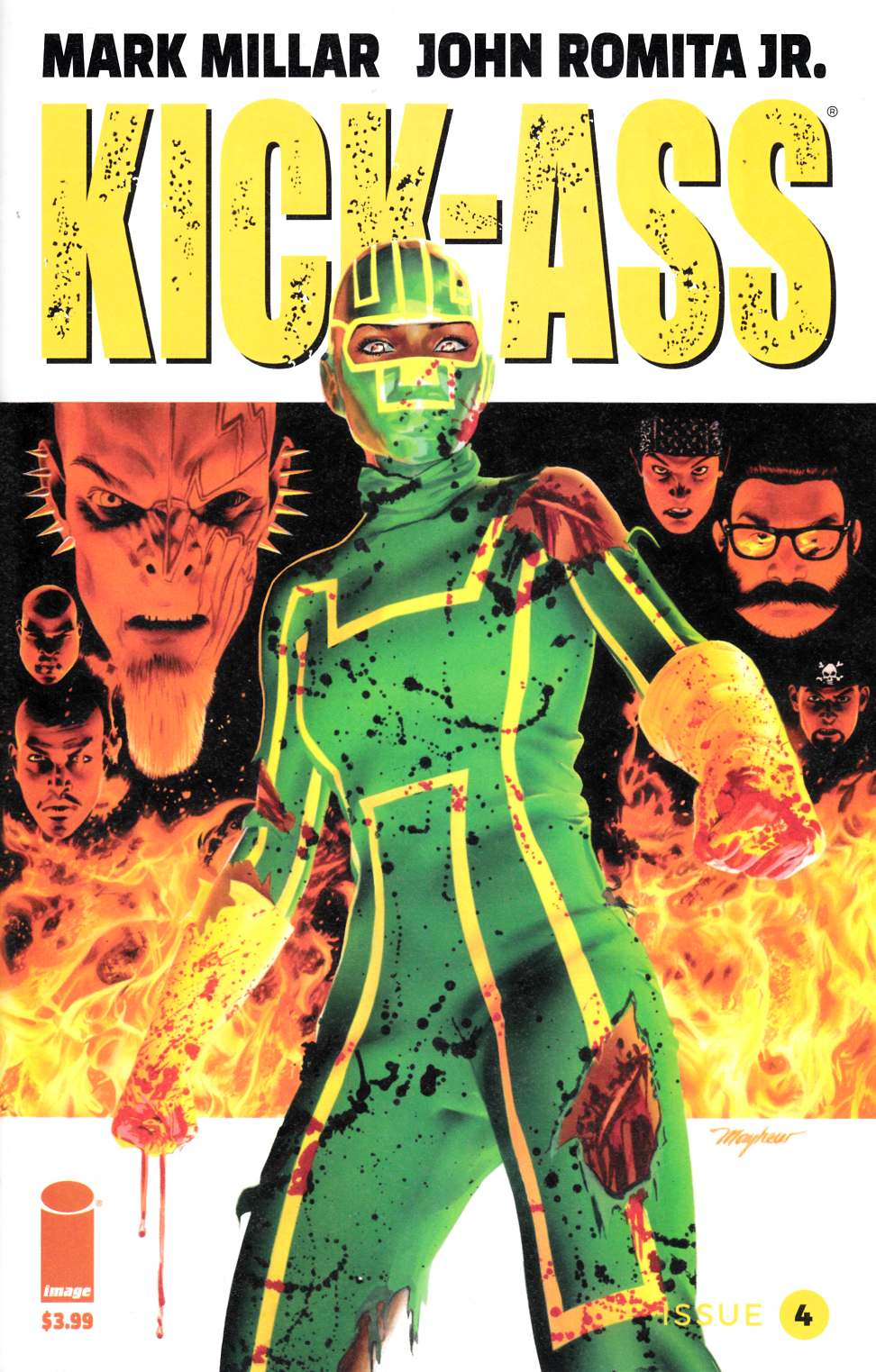 Kick Ass #4 Cover C [Image Comic] THUMBNAIL