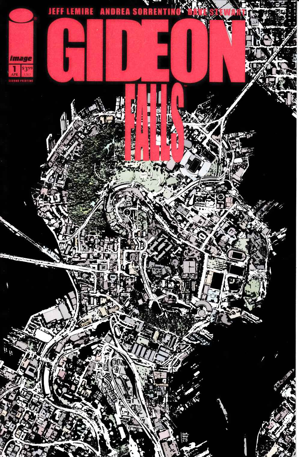 Gideon Falls #1 Second Printing [Image Comic] LARGE