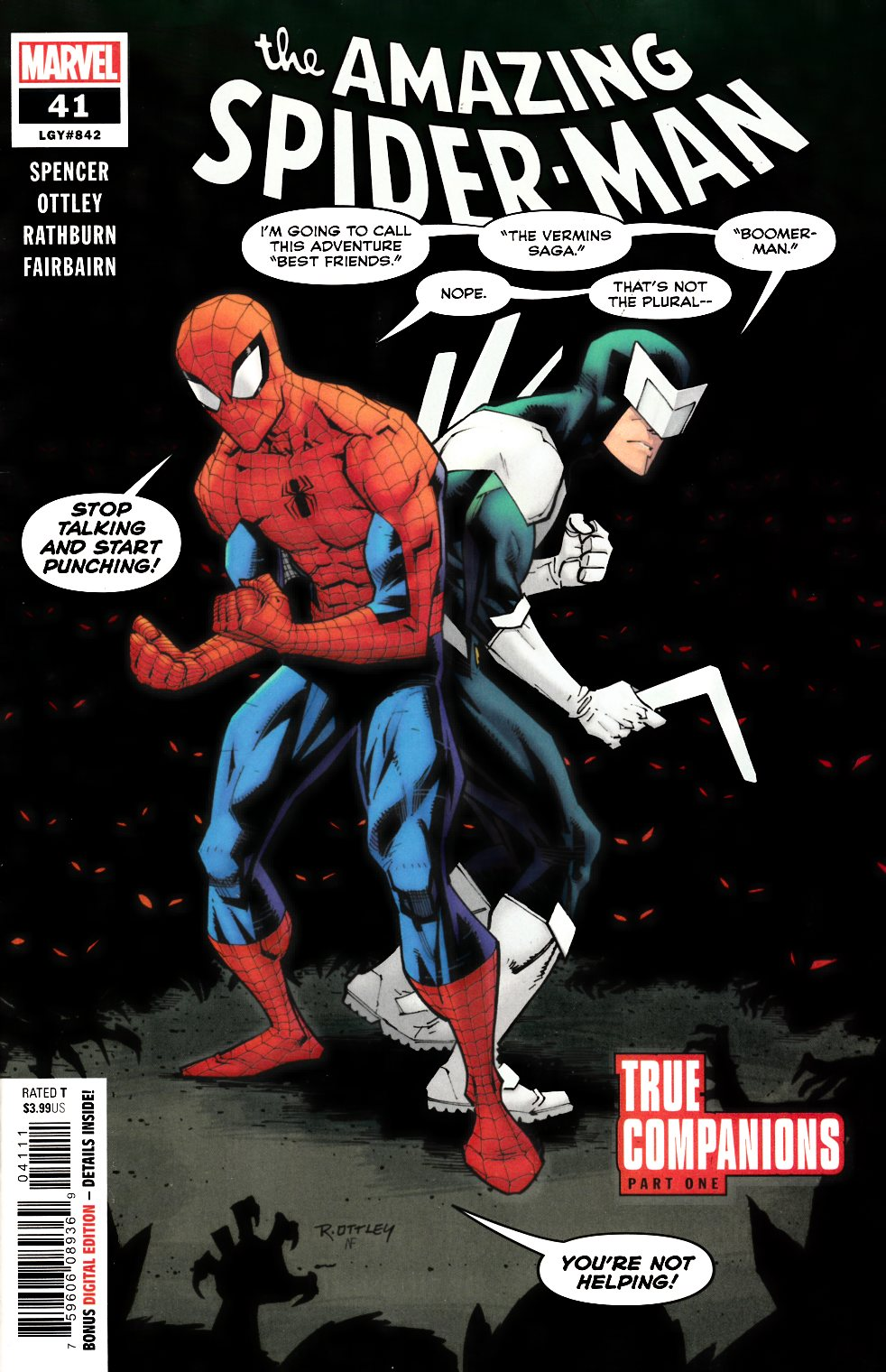Amazing Spider-Man #41 Very Fine (8.0) [Marvel Comic] THUMBNAIL