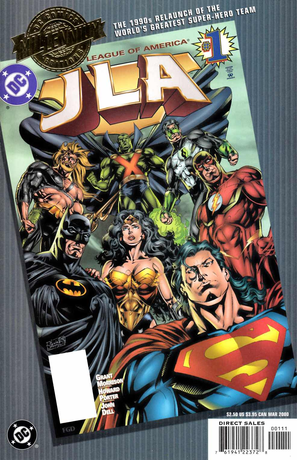 JLA #1 DC Millennium Edition [Comic] LARGE