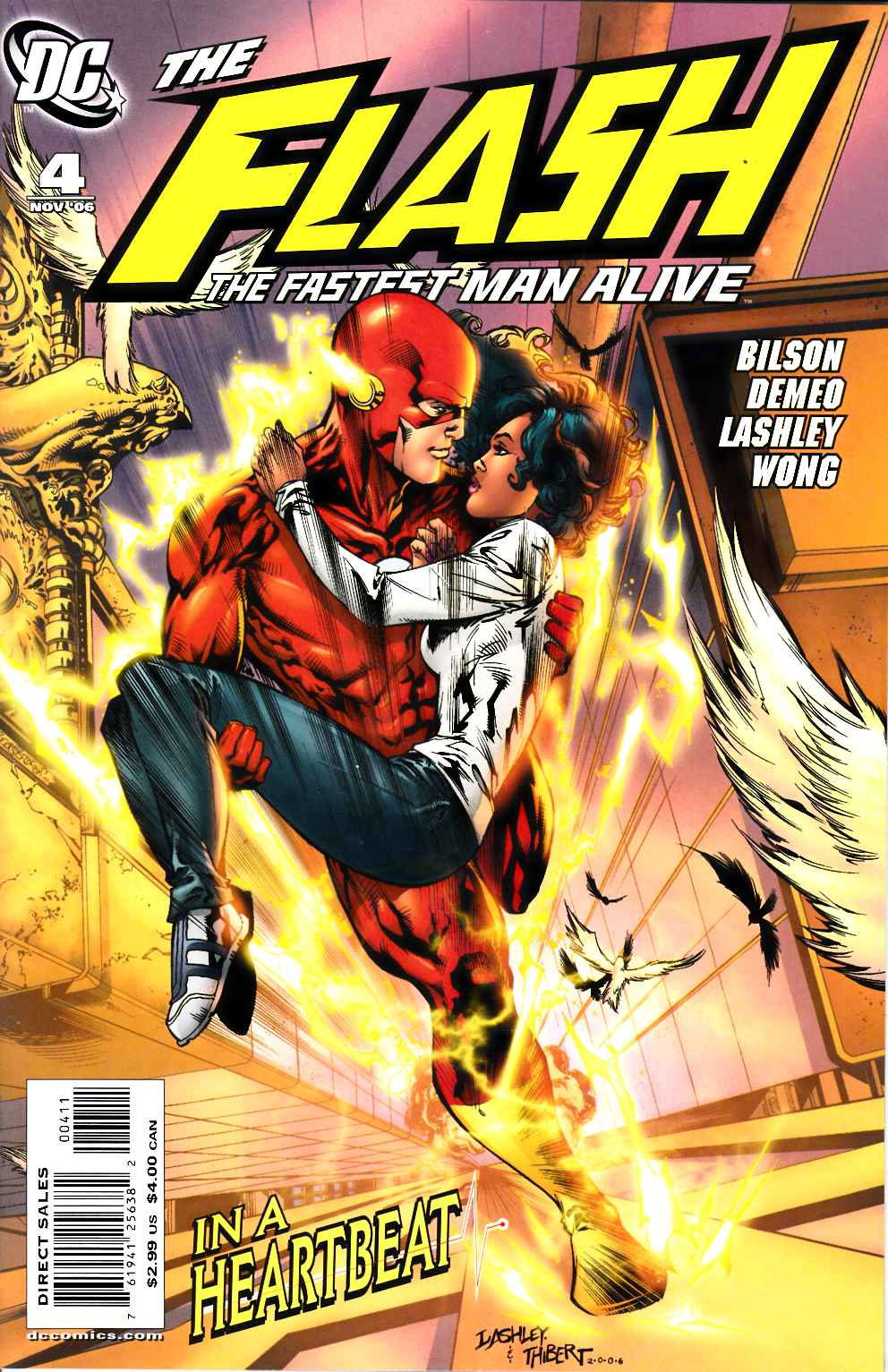 Flash the Fastest Man Alive #4 Very Fine (8.0) [DC Comic]_THUMBNAIL