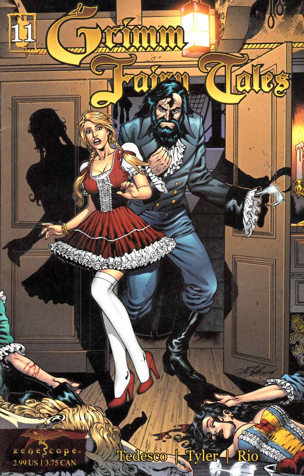 Grimm Fairy Tales #11 Very Fine (8.0) [Zenescope Comic] THUMBNAIL