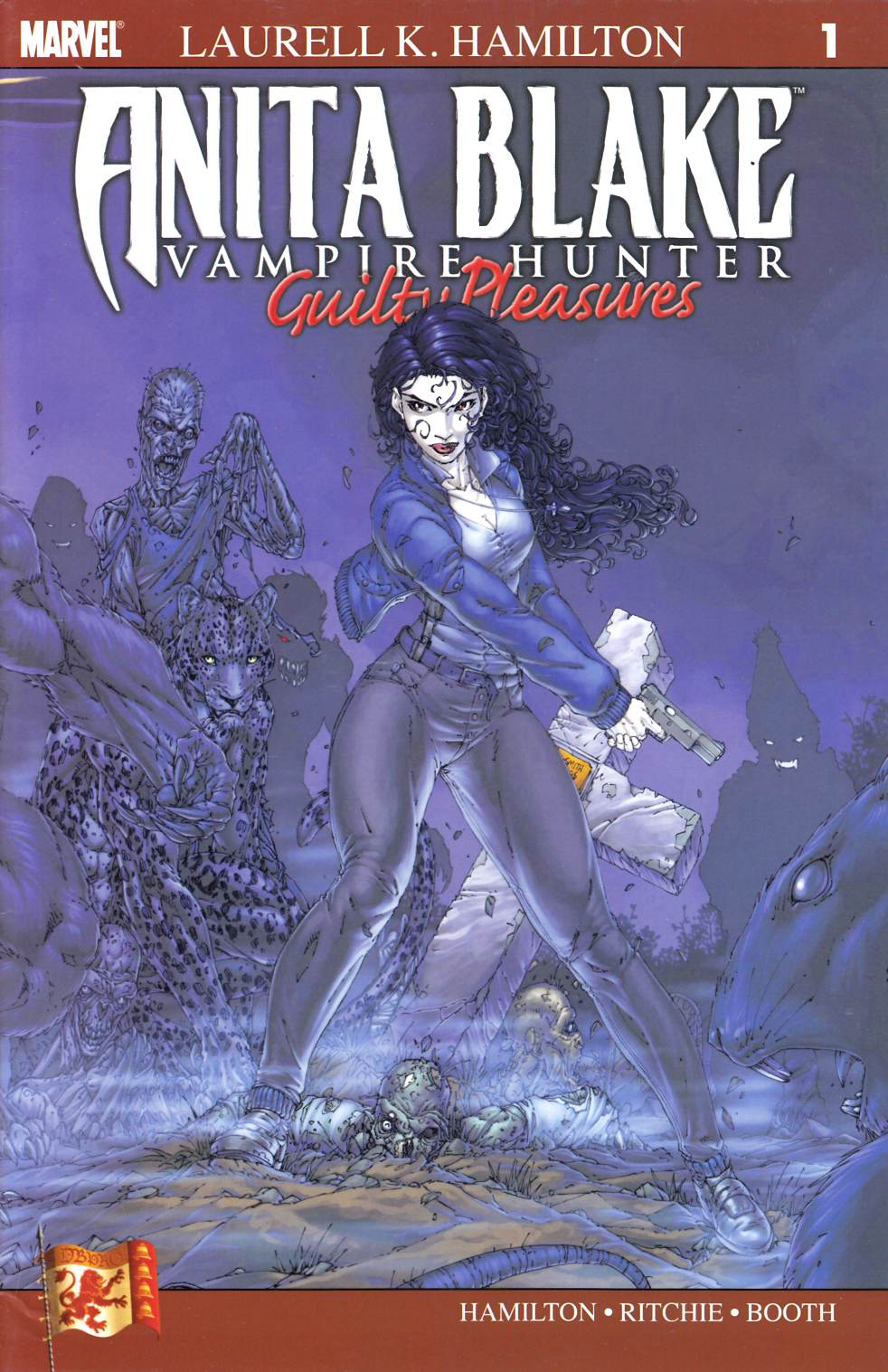 Anita Blake Vampire Hunter Guilty Pleasures #1 Fine (6.0) [Marvel Comic]