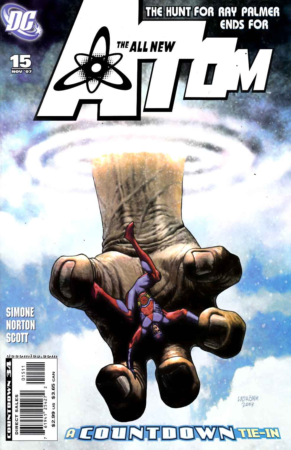 All New Atom #15 Very Fine (8.0) [DC Comic] THUMBNAIL
