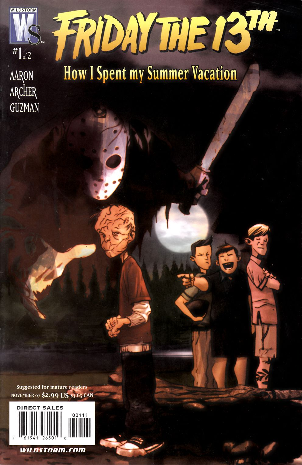Friday the 13th How I Spent My Summer Vacation #1 Fine (6.0) [DC Comic] THUMBNAIL