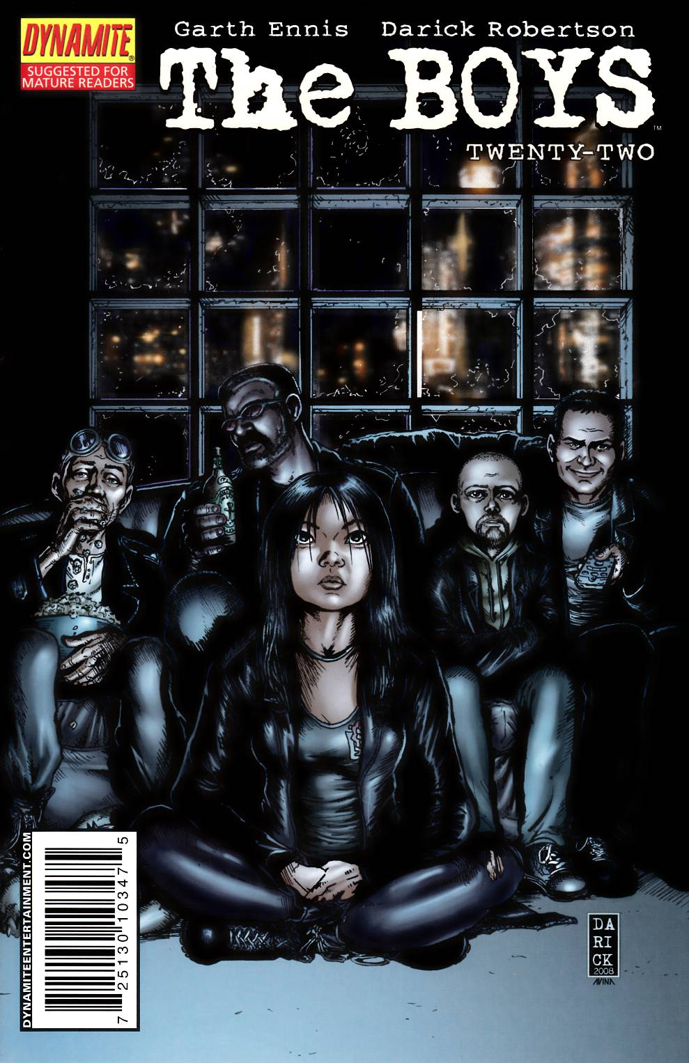 Boys #22 Glow In the Dark Cover Very Fine (8.0) [Dynamite Comic] THUMBNAIL