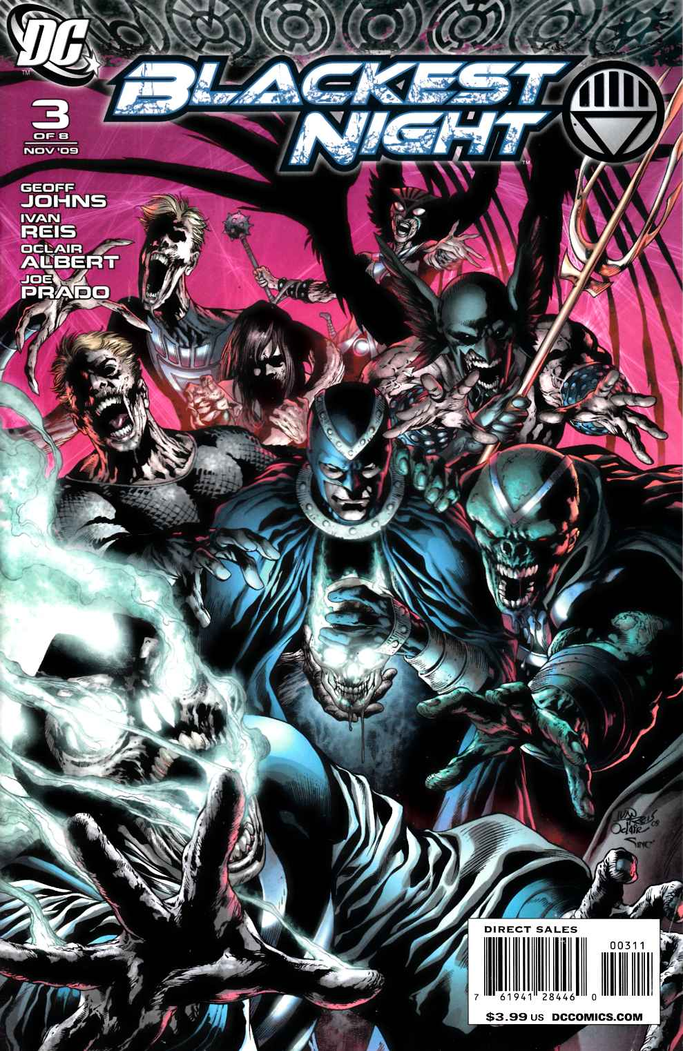 Blackest Night #3 Near Mint (9.4) [DC Comic] LARGE