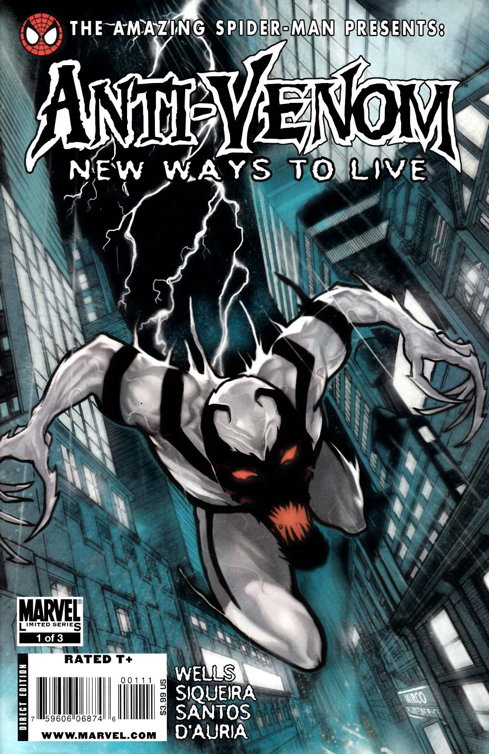 Amazing Spider-Man Presents Anti-Venom #1 Very Fine (8.0) [Marvel Comic] THUMBNAIL
