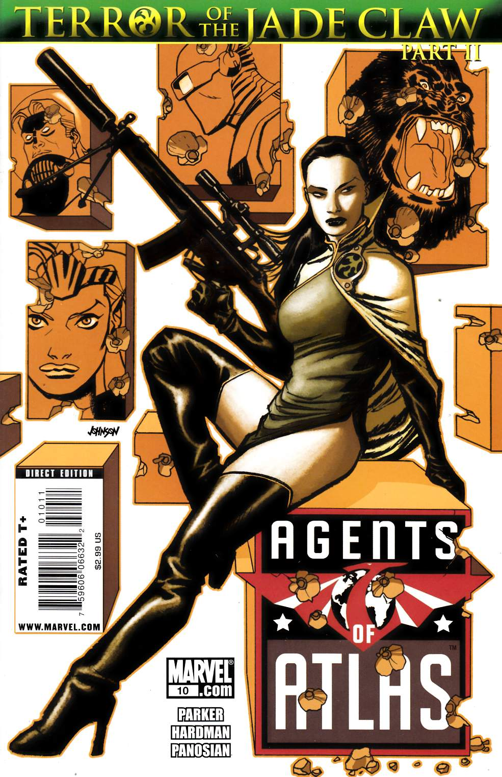 Agents of Atlas #10 Very Fine (8.0) [Marvel Comic] THUMBNAIL