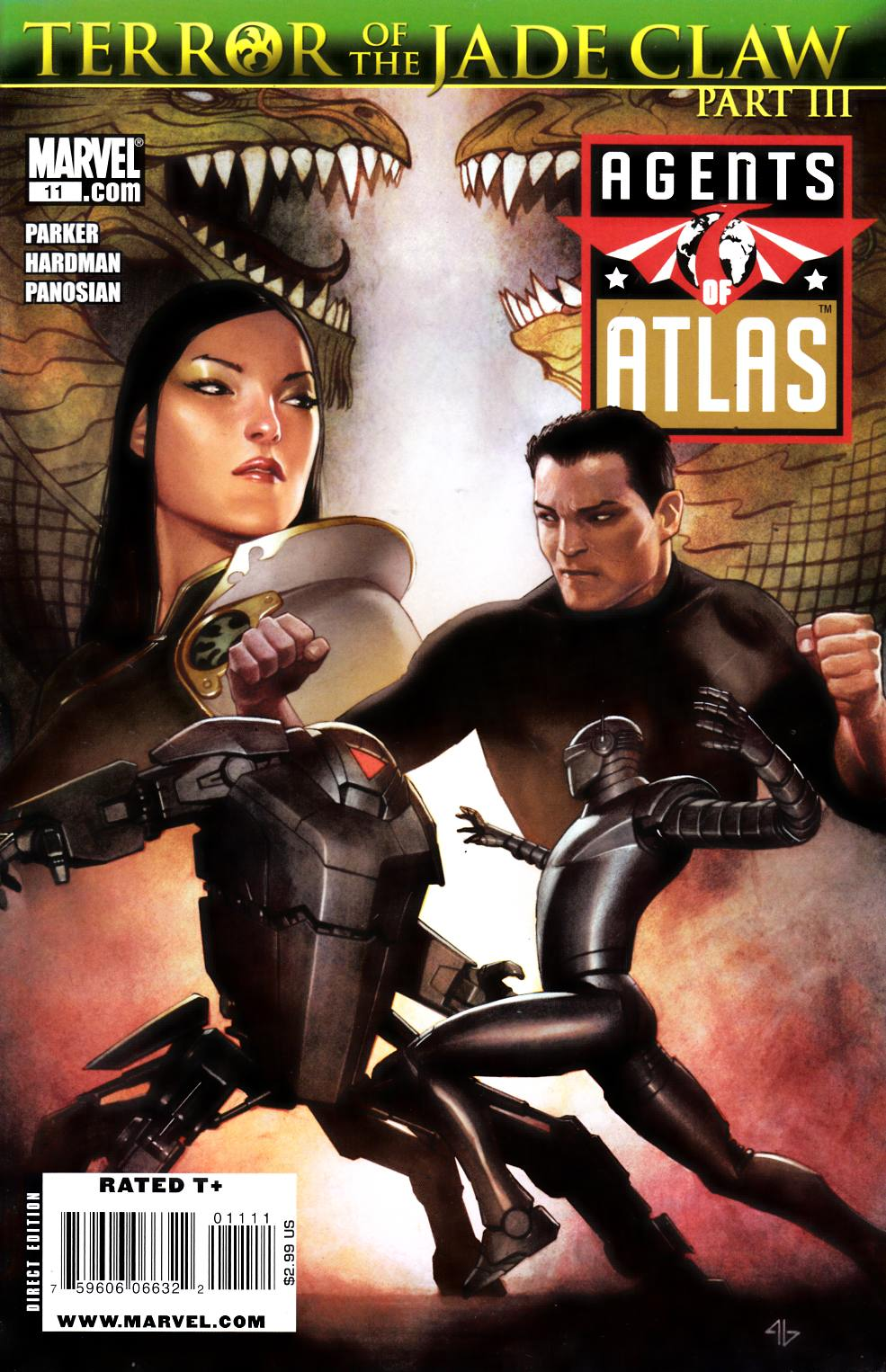 Agents of Atlas #11 Near Mint Minus (9.2) [Marvel Comic] THUMBNAIL