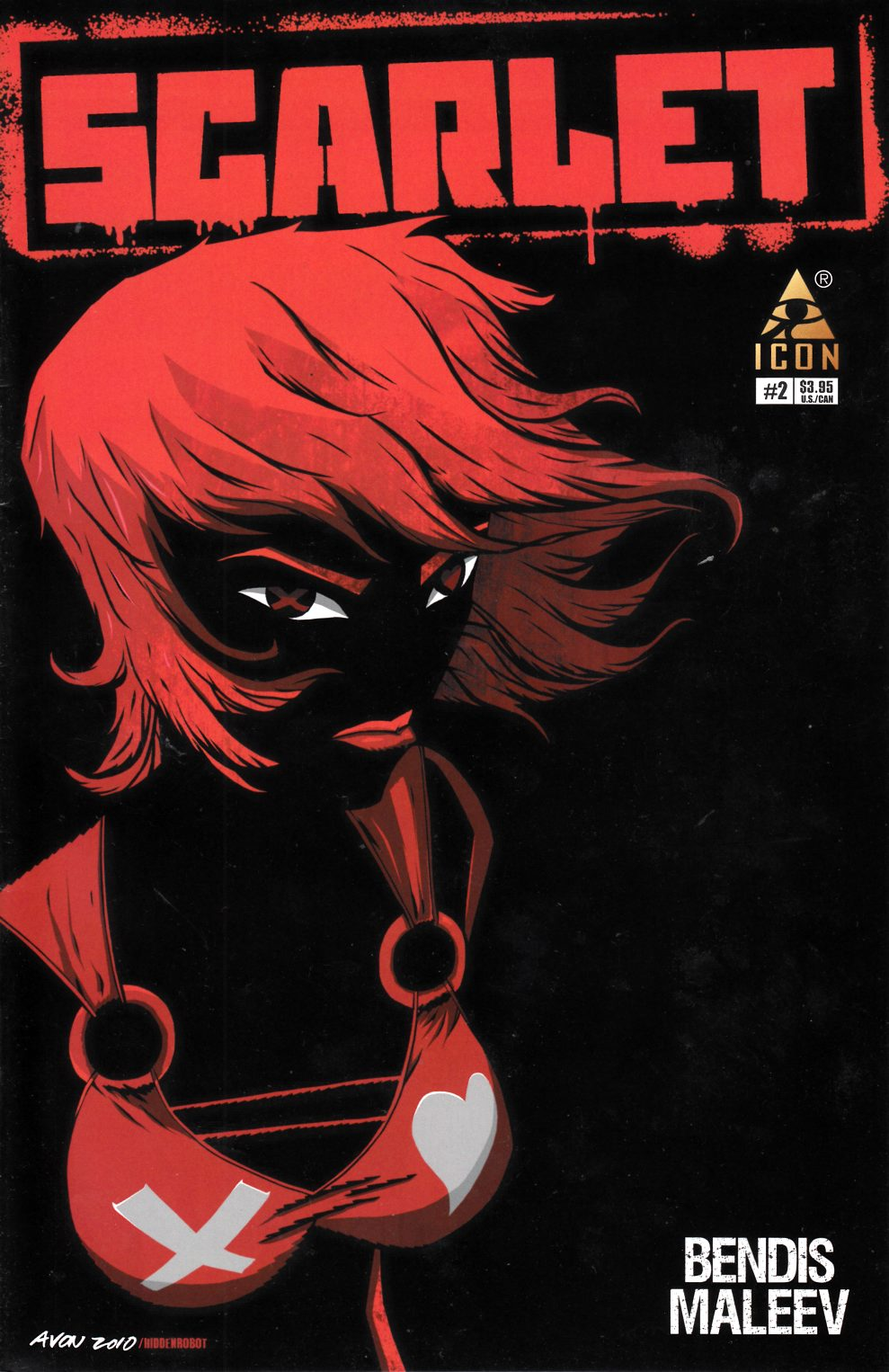 Scarlet #2 Oeming Variant Cover Very Fine (8.0) [Marvel Comic]_LARGE