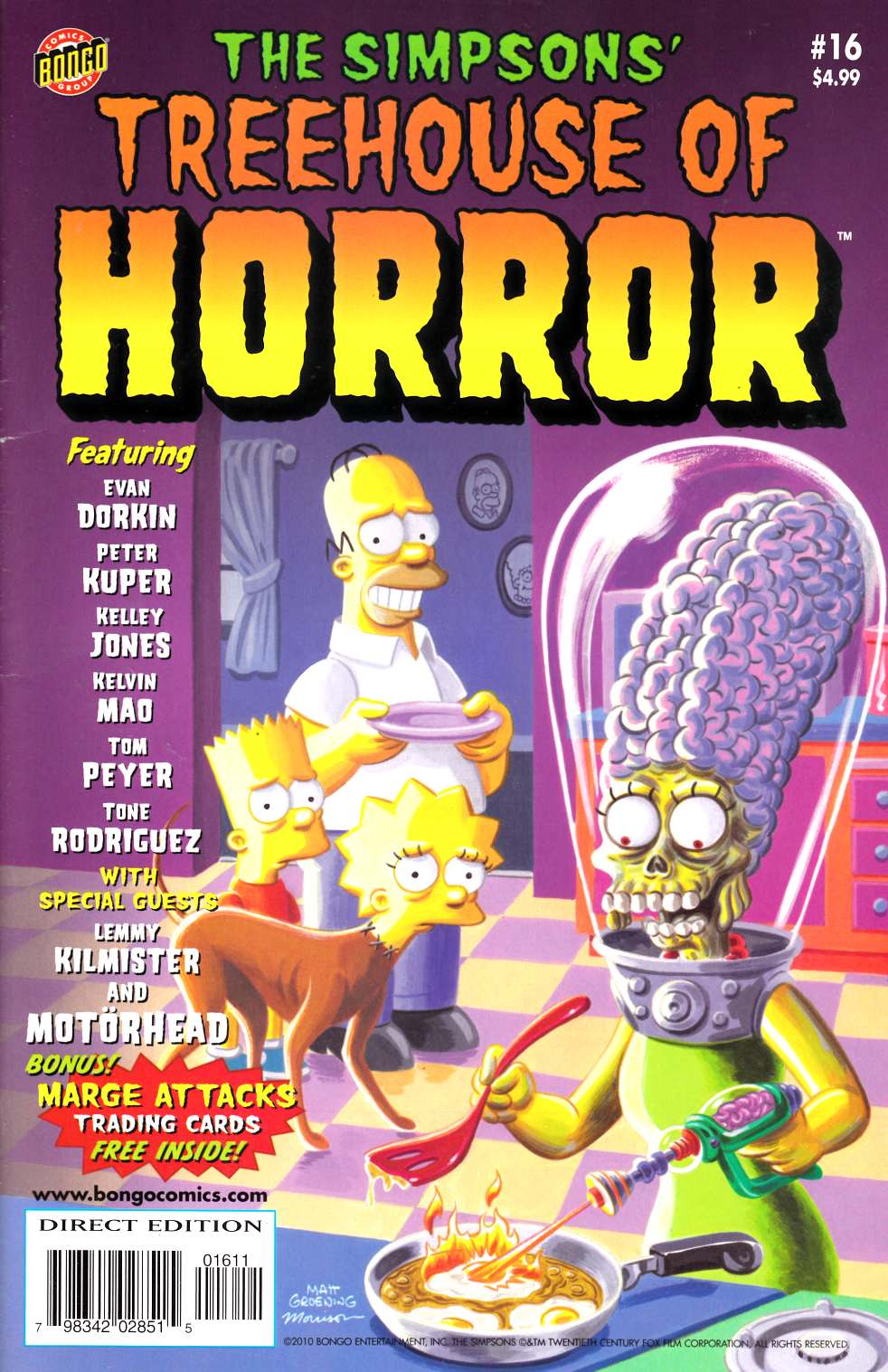 Simpsons Treehouse of Horror #16 Fine (6.0) [Bongo Comic] THUMBNAIL