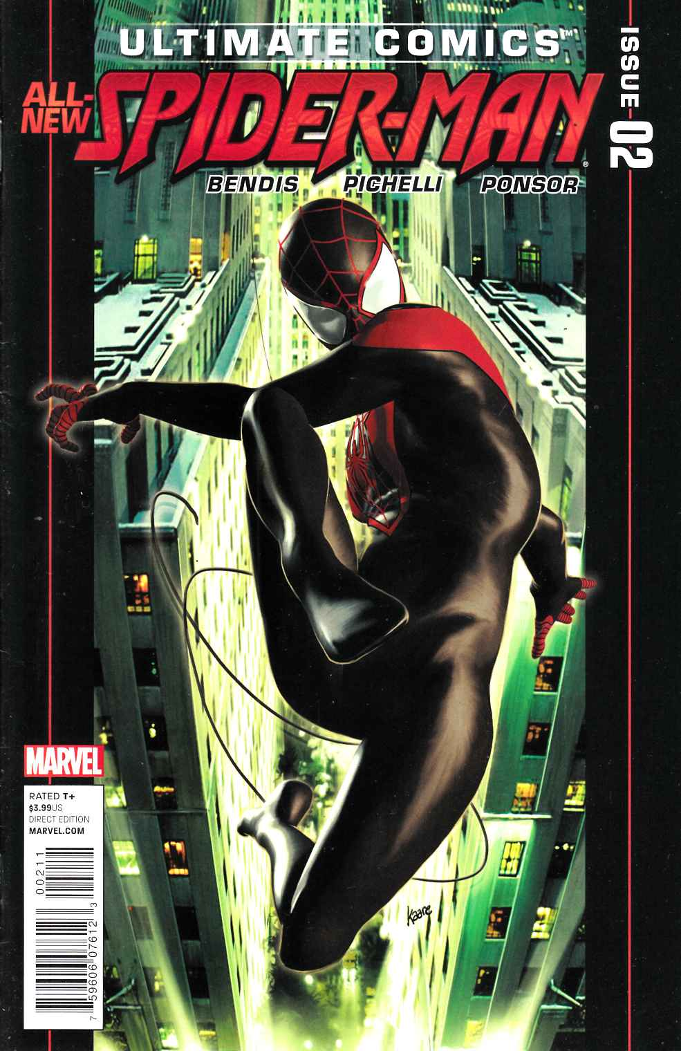 Ultimate Comics Spider-Man #2 Very Fine (8.0) [Marvel Comic] THUMBNAIL