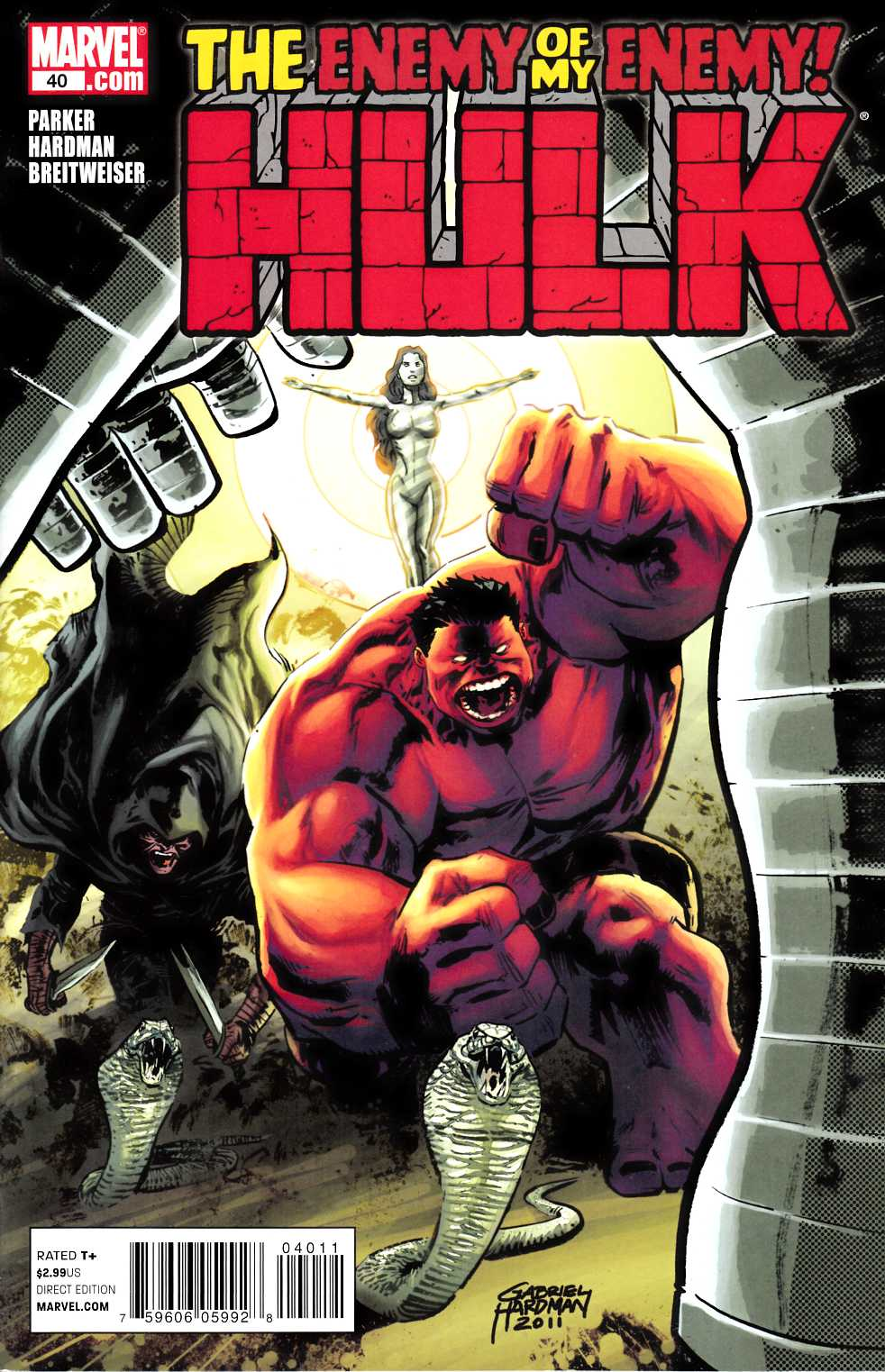 Hulk #40 Near Mint Minus (9.2) [Marvel Comic] LARGE