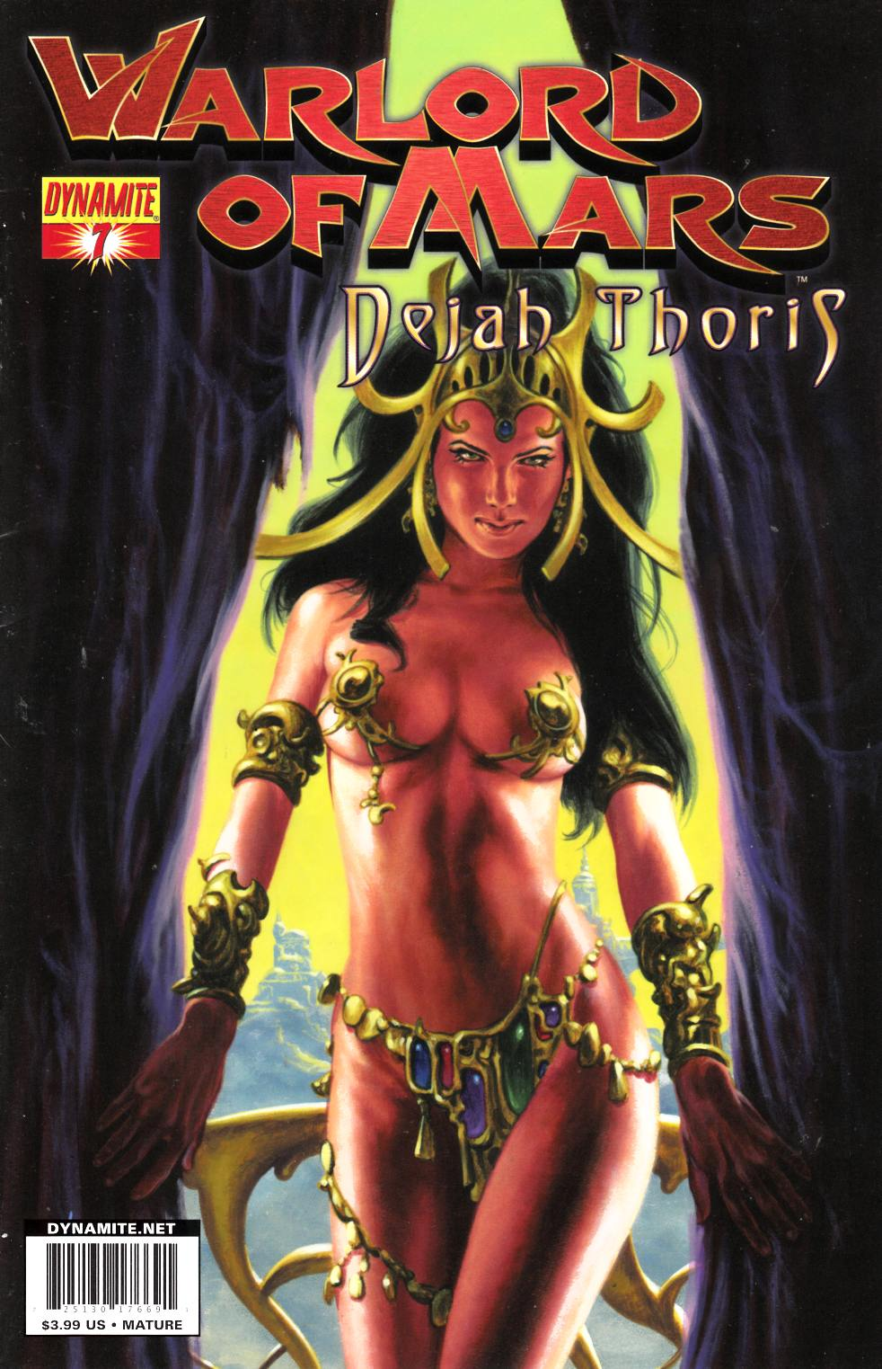 Warlord Of Mars Dejah Thoris #7 Jusko Cover Fine (6.0) [Dynamite Comic] THUMBNAIL