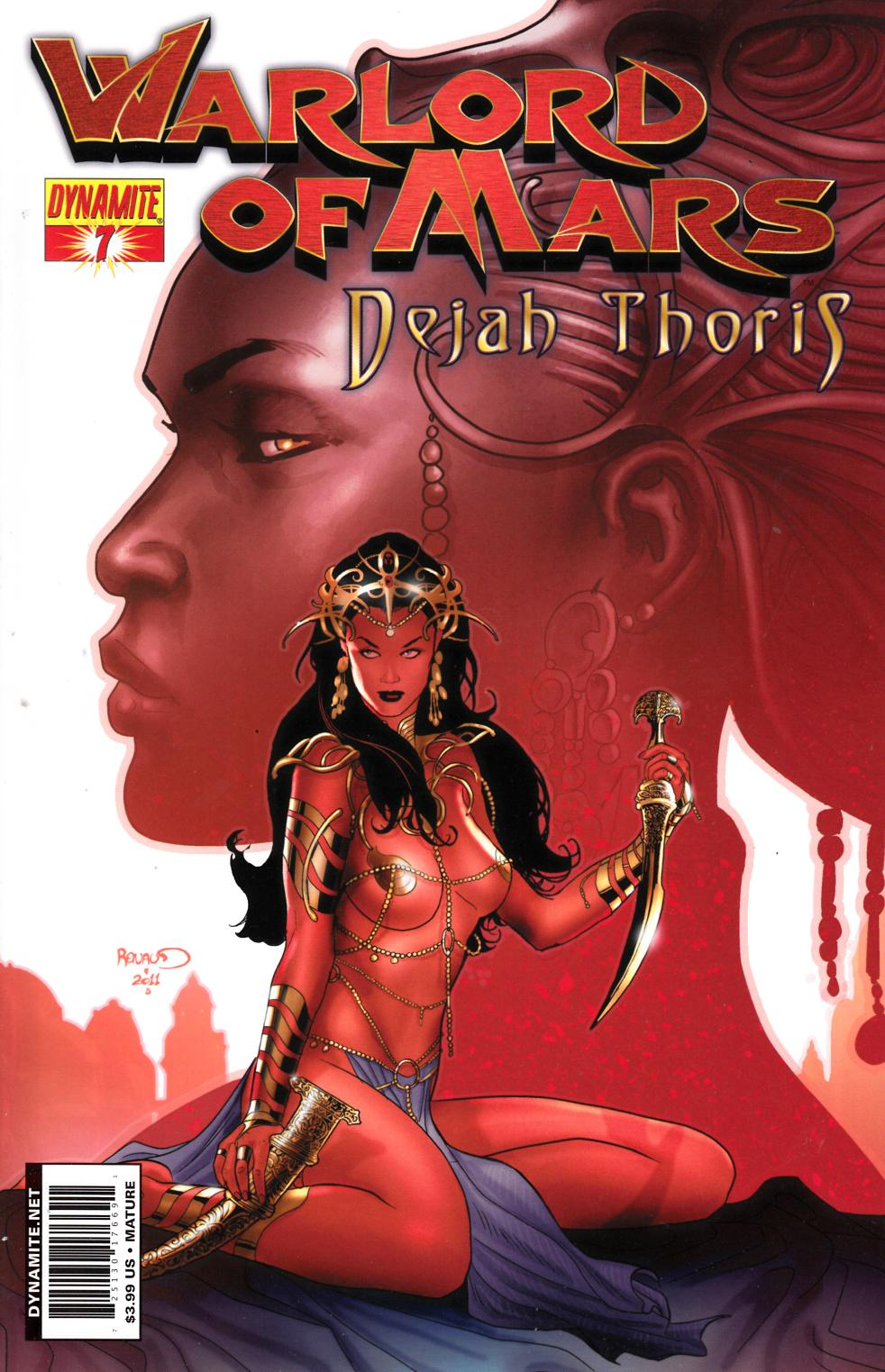 Warlord Of Mars Dejah Thoris #7 Renaud Cover Near Mint (9.4) [Dynamite Comic] THUMBNAIL