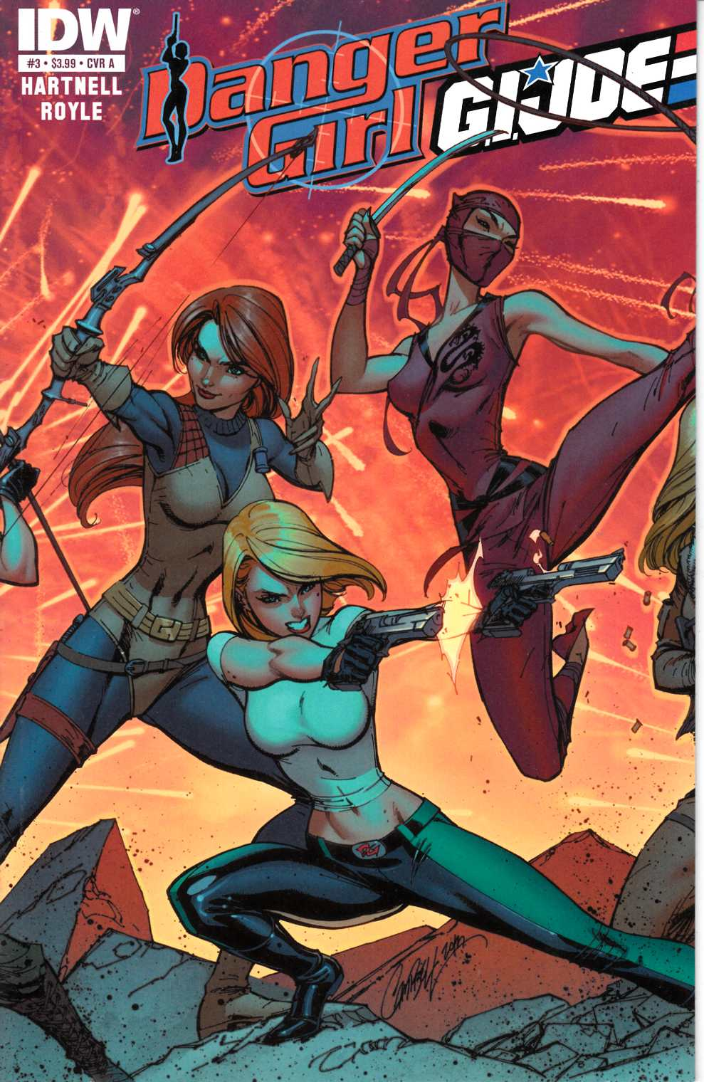 Danger Girl GI Joe #3 Cover A [Comic] THUMBNAIL