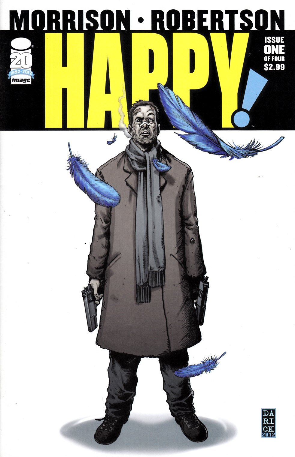 Happy #1 Near Mint (9.4) [Image Comic] THUMBNAIL
