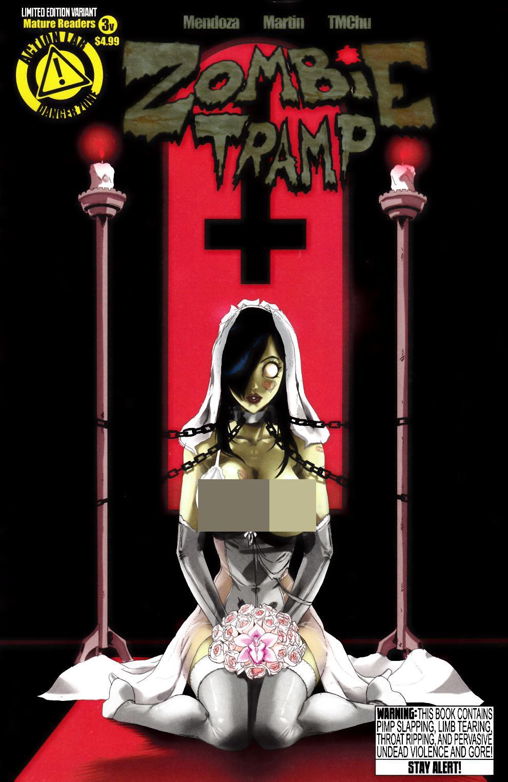 Zombie Tramp Ongoing #3 Risque Variant Cover- Very Fine (8.0) [Danger Zone Comic] THUMBNAIL