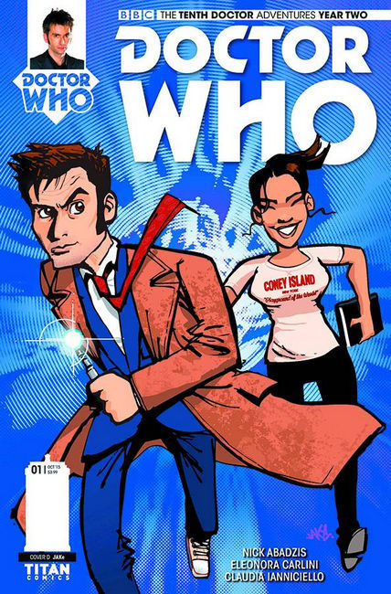 Doctor Who 10th Doctor Year Two #1 Jake Incentive Cover [Titan Comic]_THUMBNAIL
