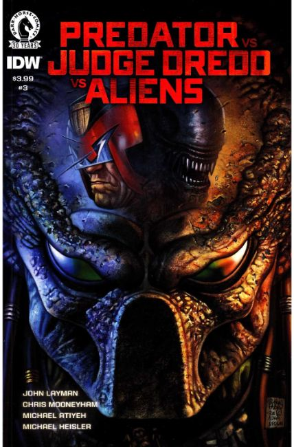 Predator vs Judge Dredd vs Aliens #3 [Dark Horse Comic]