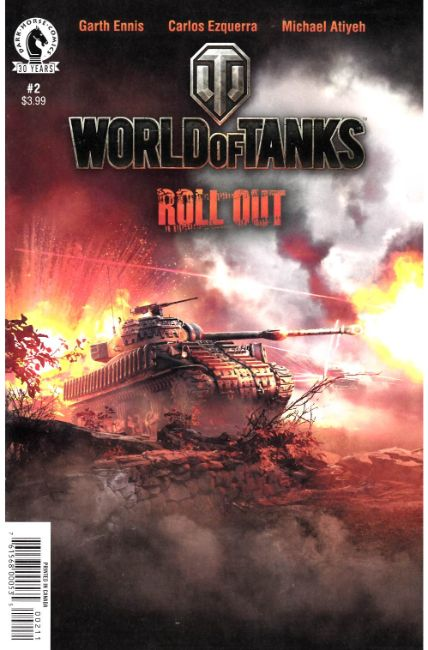 World of Tanks #2 [Dark Horse Comic] THUMBNAIL