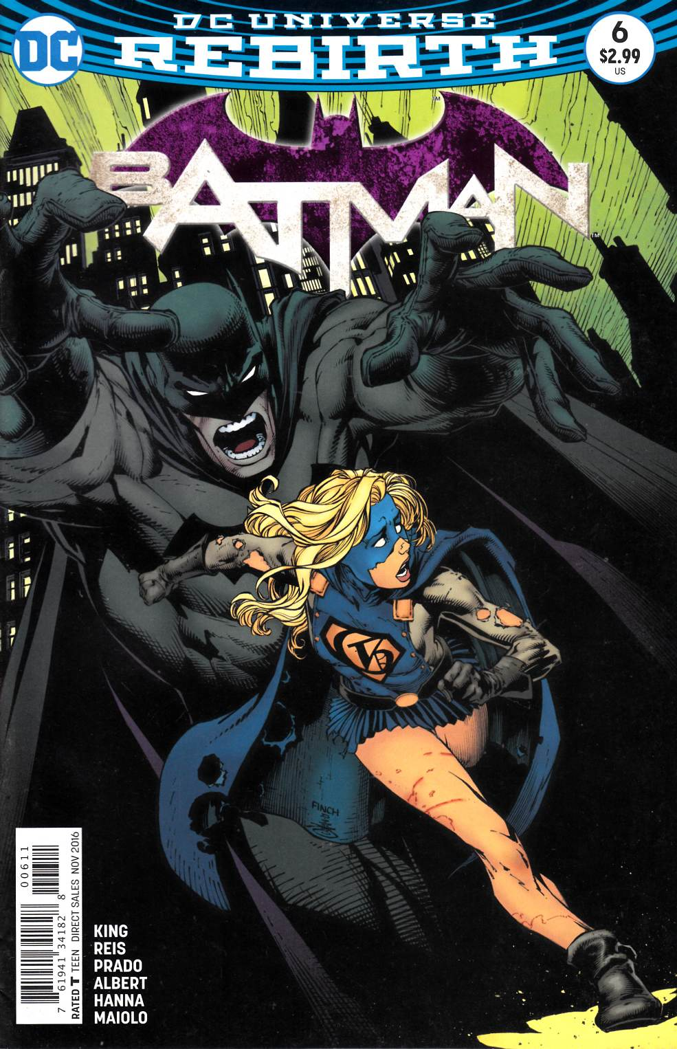 Batman #6 Very Fine (8.0) [DC Comic] LARGE