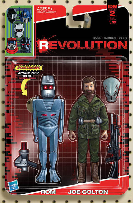 Revolution #2 Subscription Cover D [IDW Comic] THUMBNAIL