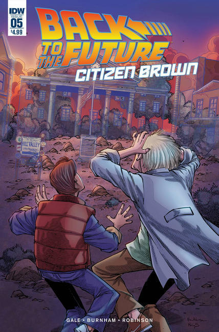 Back to the Future Citizen Brown #5 [IDW Comic]